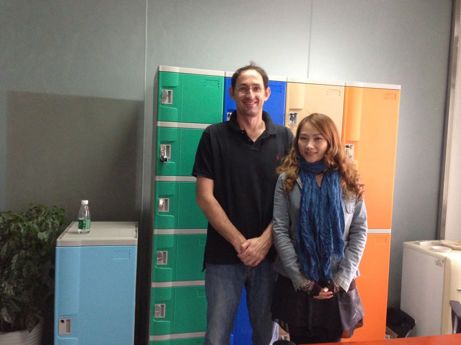 Australian Lockers Customer Visiting