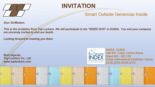 Invitation DUBAI 2016, Toplockers