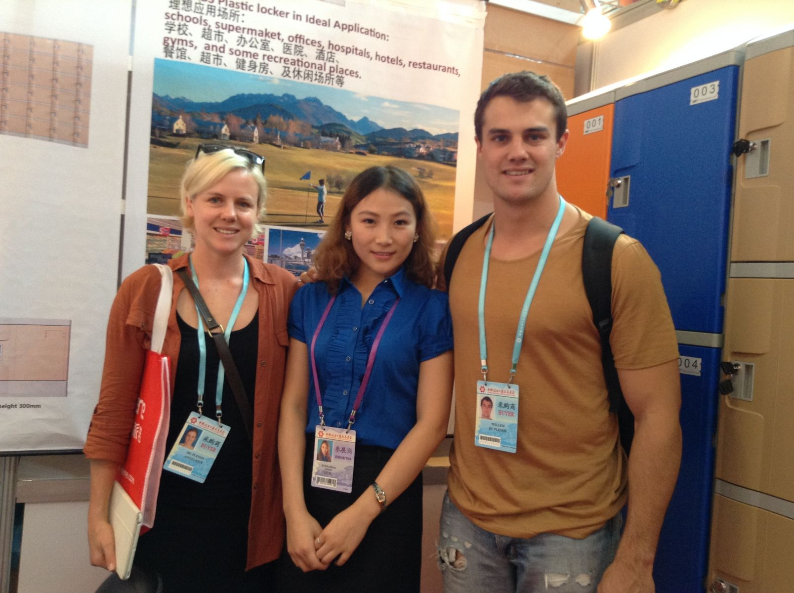 Top Lockers Attended 3rd Phase 114th Canton Fair