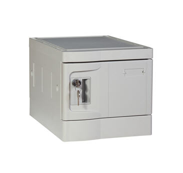 Mini Plastic Lockers, Gray Color