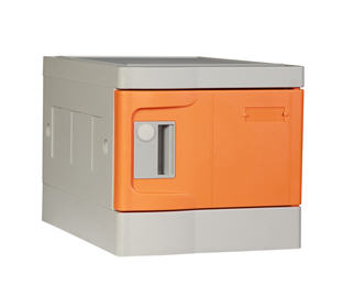 Plastic Lockers, Mini, Orange Color