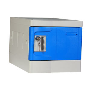 Plastic Mini Lockers, Blue Color