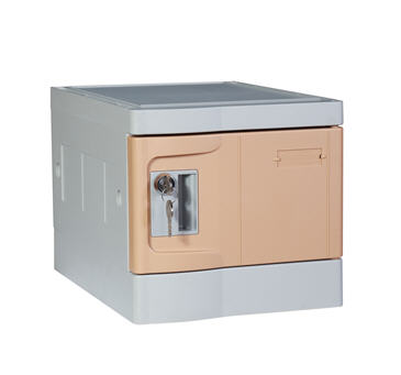 Plastic Mini Lockers, Coffee Colour
