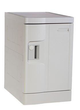 Plastic Mini Lockers, Gray Color