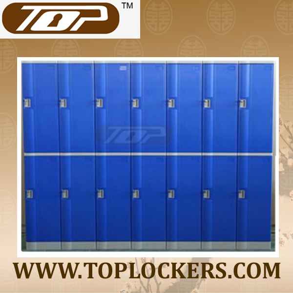 Double Tier ABS Plastic Cabinets, Navy Color