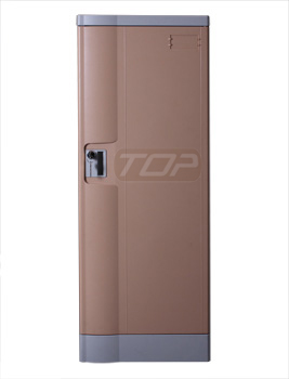 Double Tier Factory Lockers ABS Plastic, Coffee Color