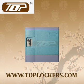Six Tier Office Lockers ABS Plastic, Blue Color