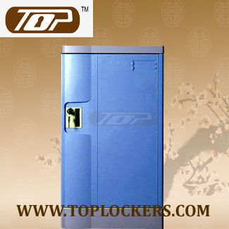 Triple Tier Storage Lockers ABS Plastic, Navy Color